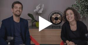 Sarah Akel et Pierre Monclos pour le webinar IA et RH