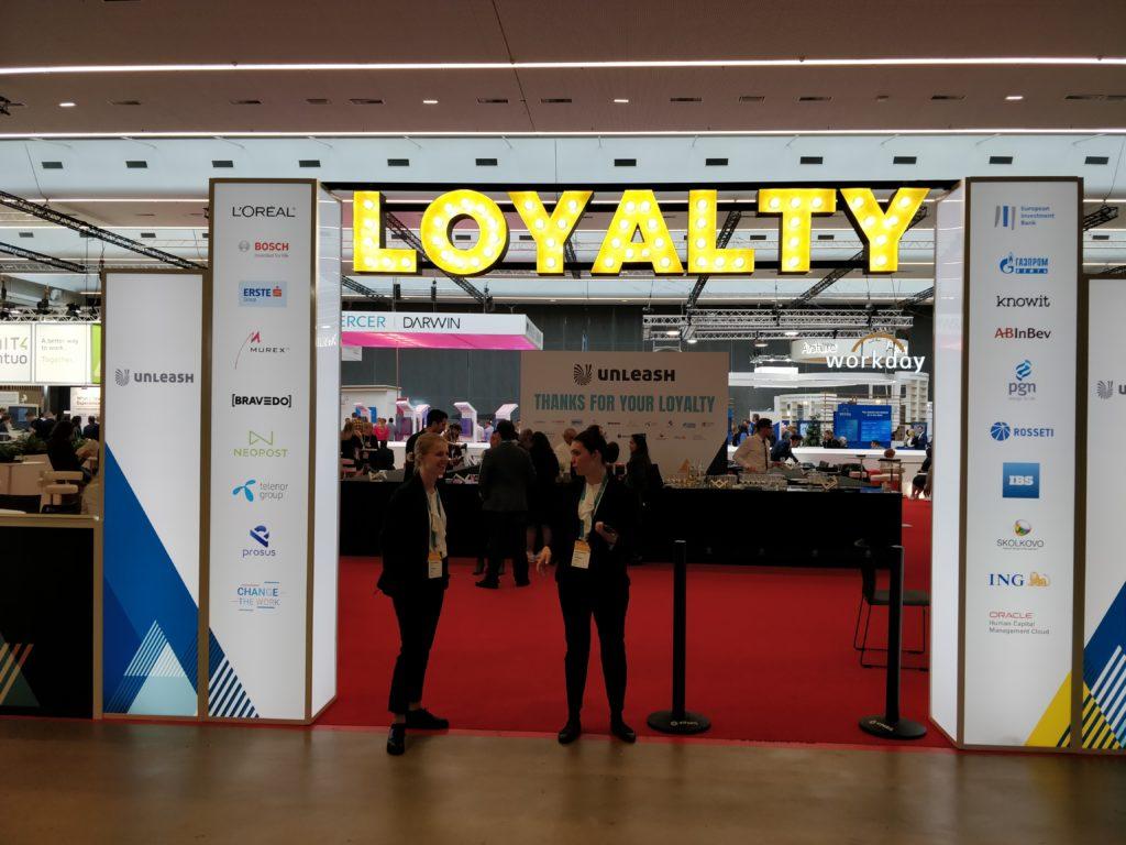 Change The Work dans le Loyalty Lounge à Unleash